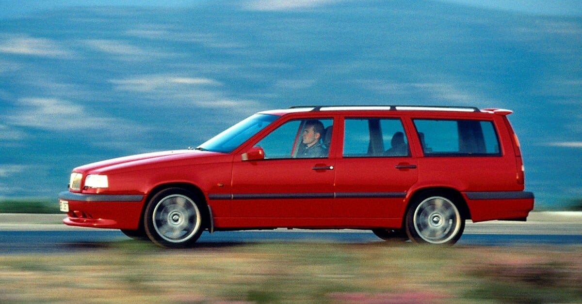 20 Years Of All Wheel Drive Volvo Cars