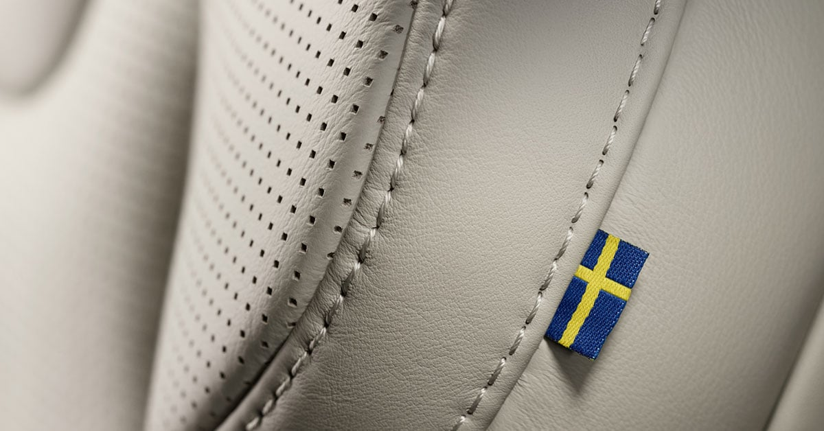 National Sweden Day Volvo Flag Xc90
