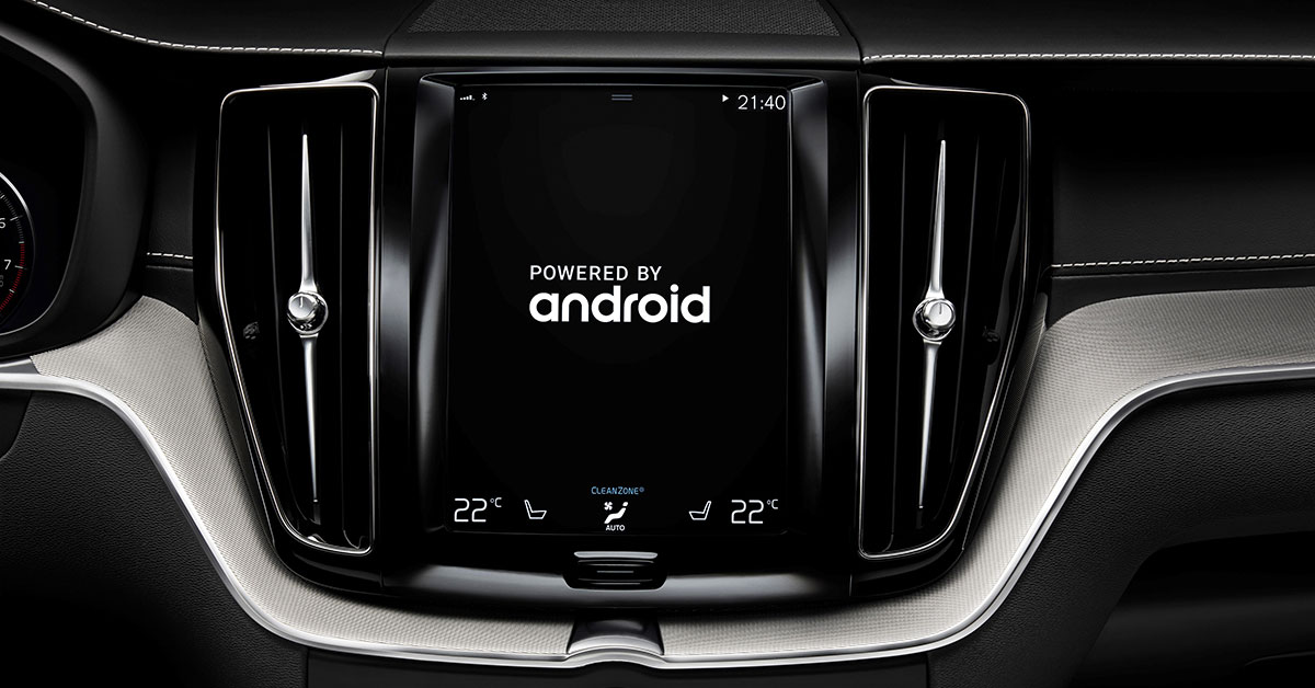 Volvo Google Android Infotainment