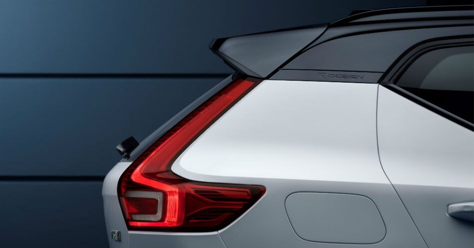 Expert view on design Volvo XC40 R3Q exterior detail and giff option