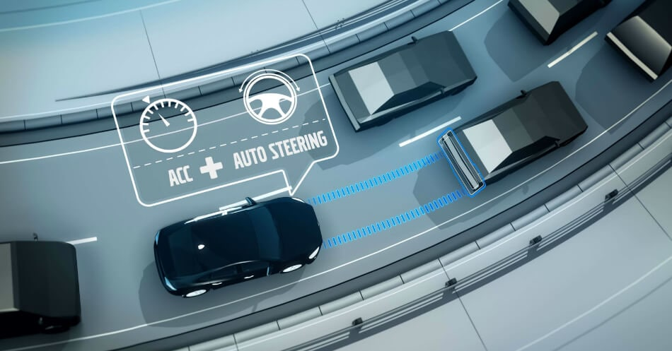 5 Tech Features - ACC with Pilot Assist