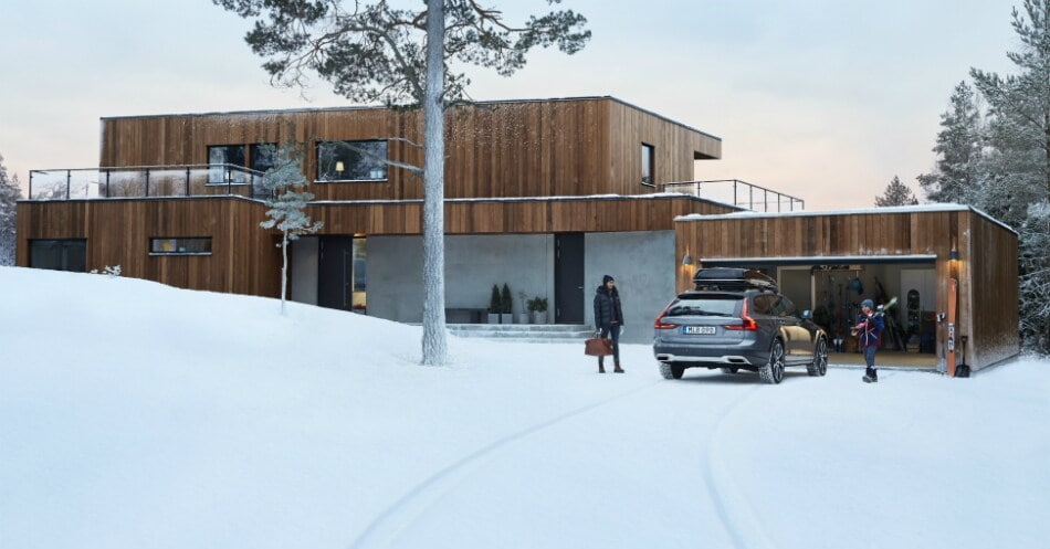 Escape to the snow with Volvo's Pack and Load Accessory Package