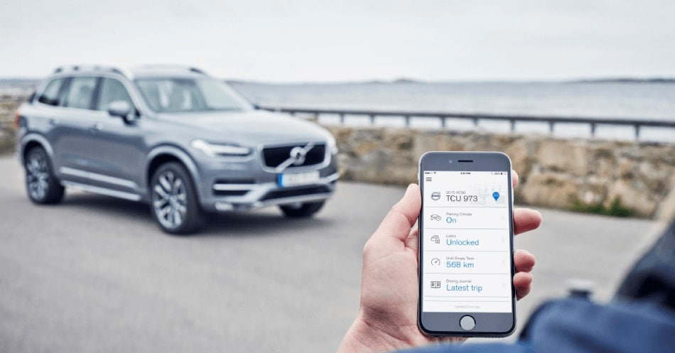 Volvo on Call - XC90 and iPhone