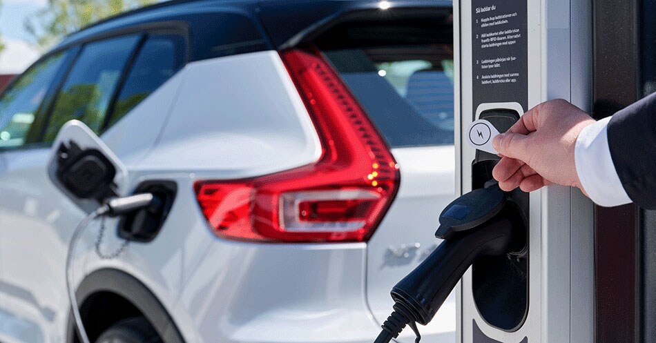European Volvo charging Network