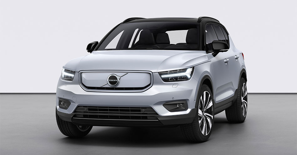Electric XC40 front