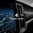 Volvo V90 Cross Country, Temperature Control