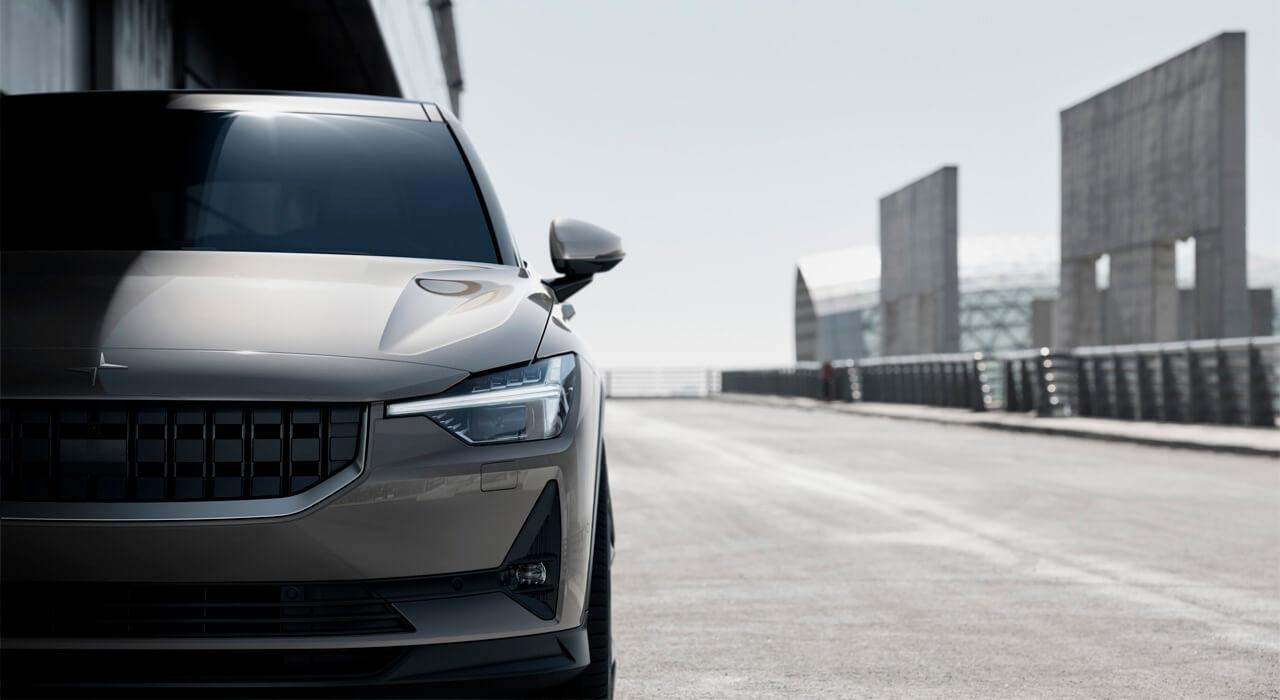Polestar 2 от Volvo 2019 года - новый электрокар бренда Полестар