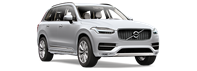 Volvo XC90 Car - Angled View