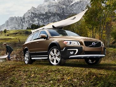 XC70 with kayak