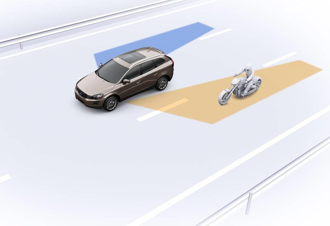 Volvo blind spot information system (blish)