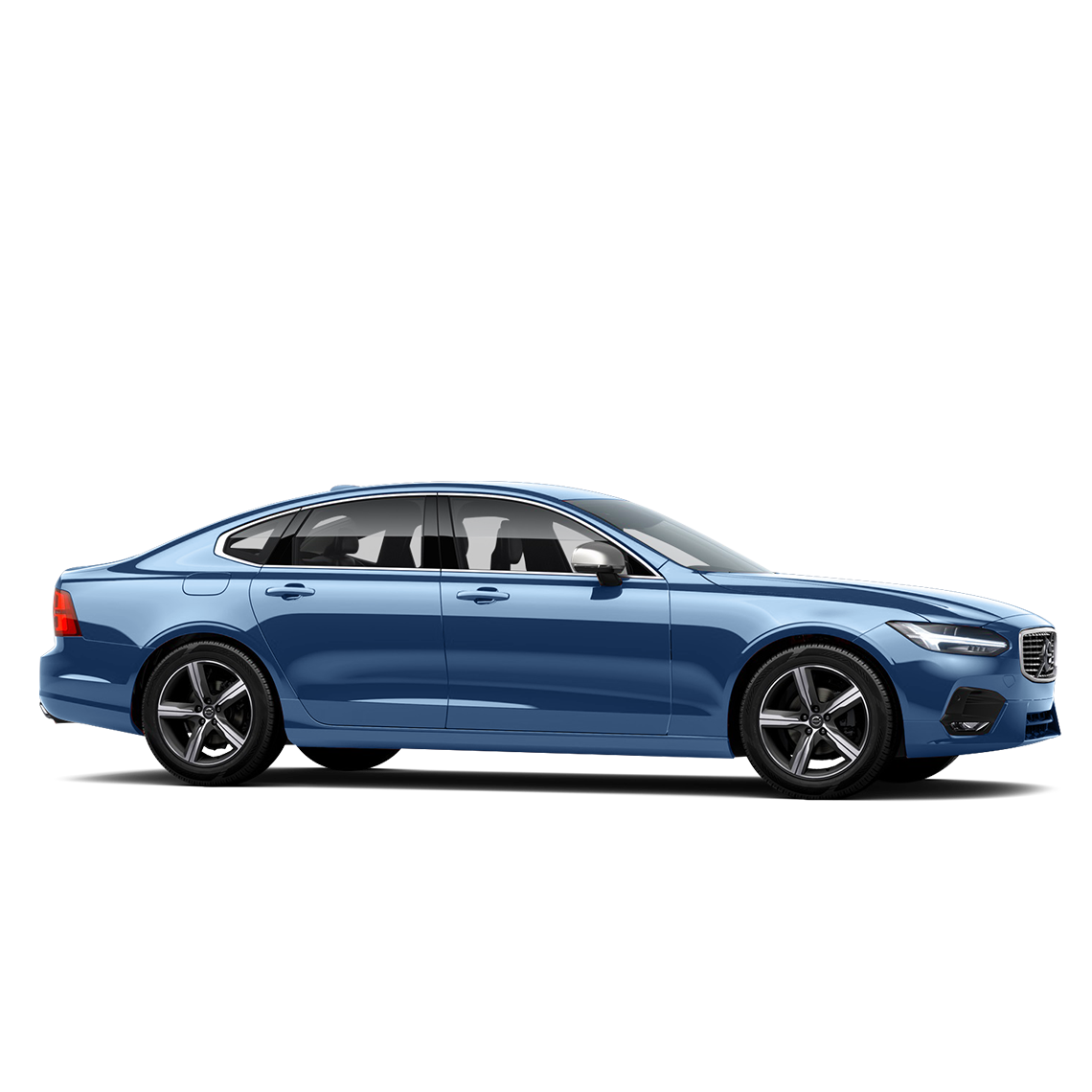Der Volvo S90 ModelYear 17 Bursting Blue R-Design