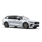 Der Volvo V60 POLESTAR in Crystal White