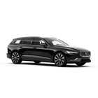 Volvo V60 INSCRIPTION in Onyx Black Dreiviertelfrontschuss