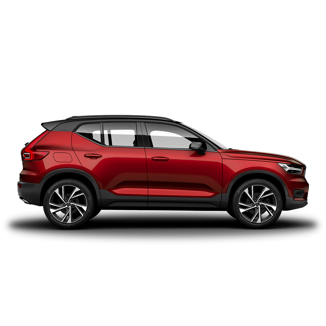 Volvo XC40 R-Design Fusion Red