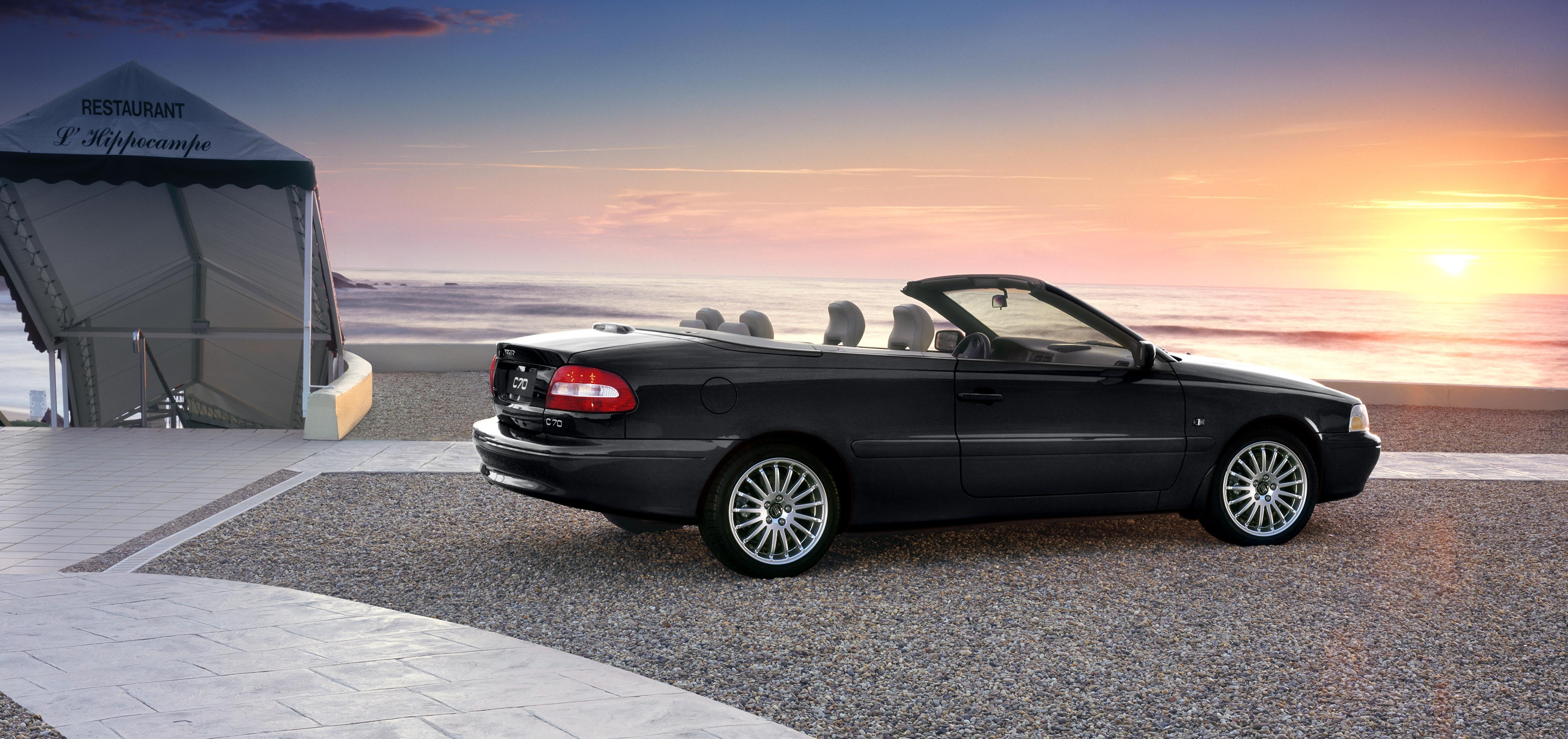 der volvo c70 als cabrio volvo cars. Black Bedroom Furniture Sets. Home Design Ideas