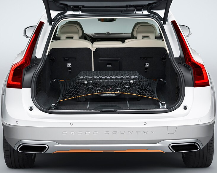 Volvo V90 Cross Country Volvo Ocean Race view of luggage compartment