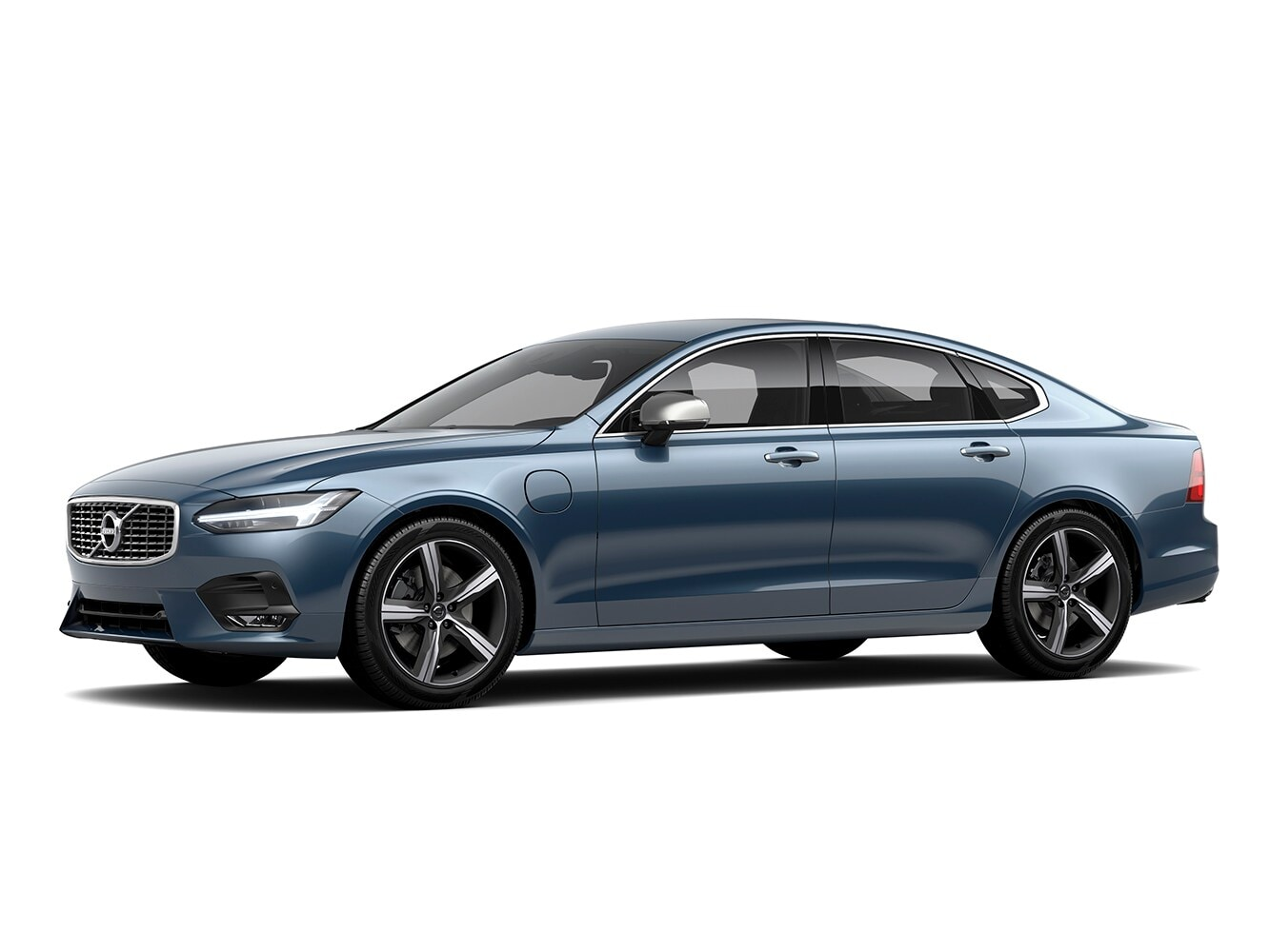 The Volvo S90 R-Design trim