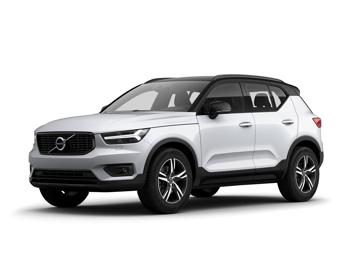 The Volvo XC40 R-Design trim