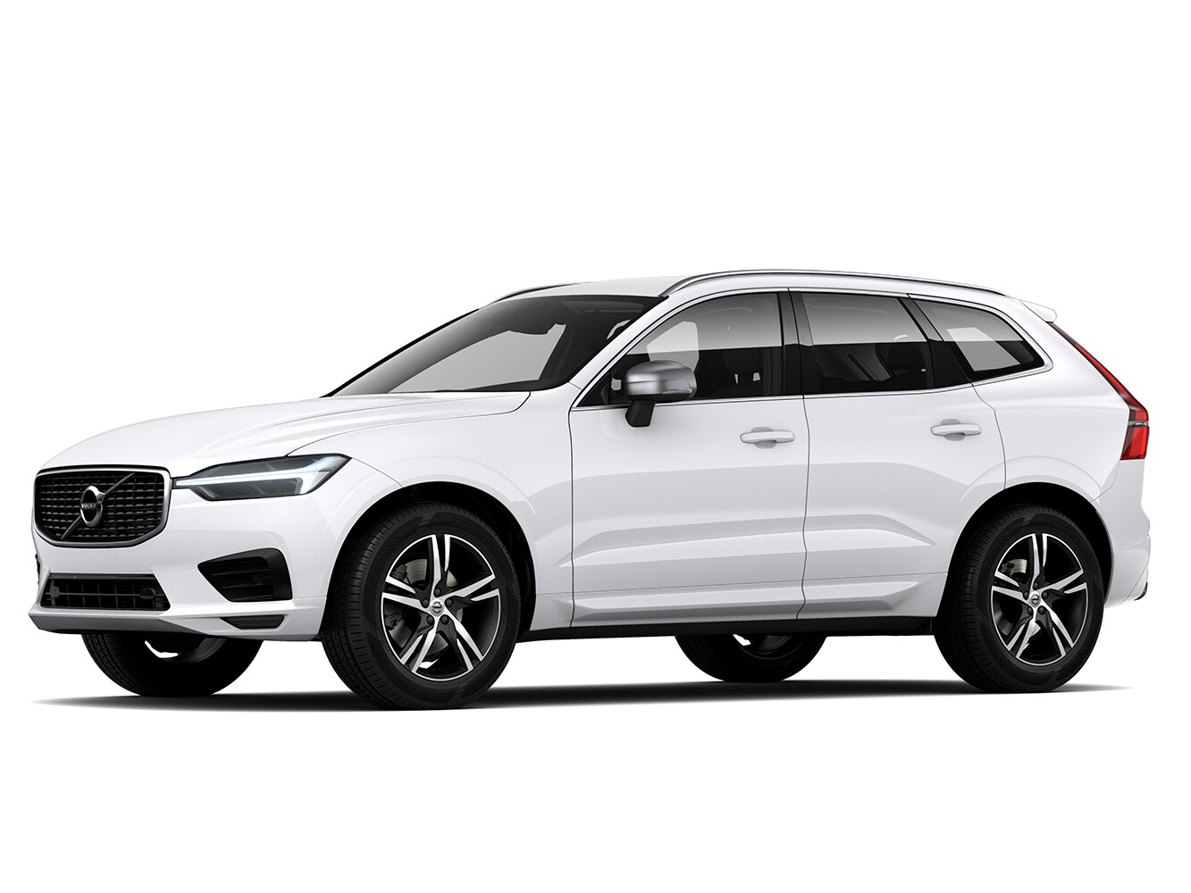 The Volvo XC60 R-Design trim