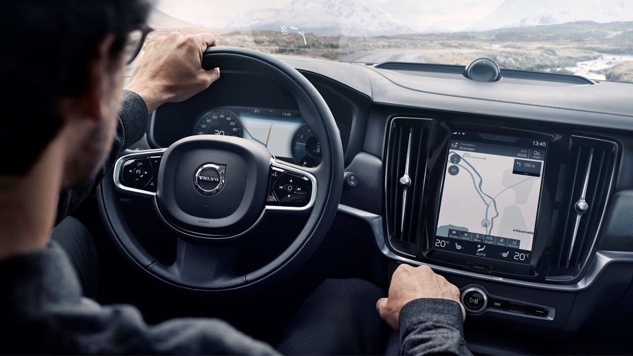 Volvo Cross Country interior
