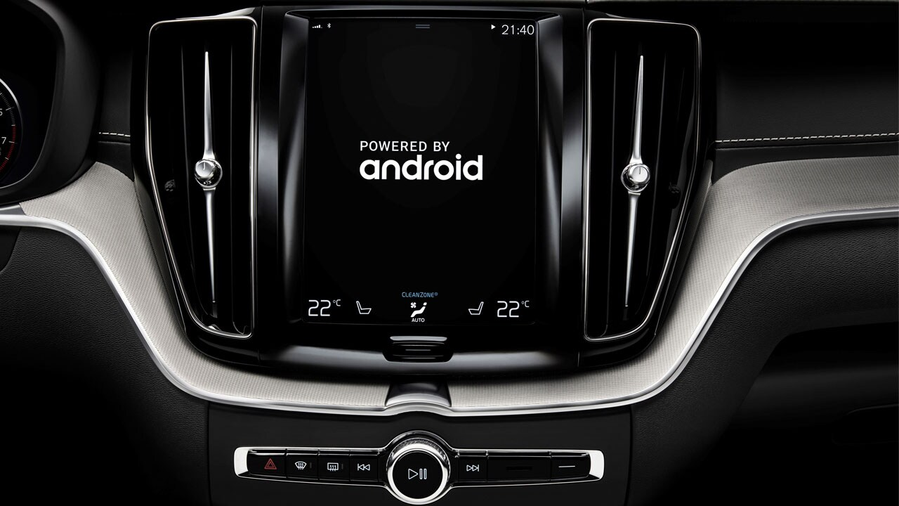 Volvo Google Android
