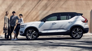 Care by Volvo tres chicos y un XC40