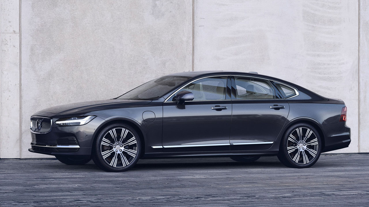 Volvo S90 vista lateral
