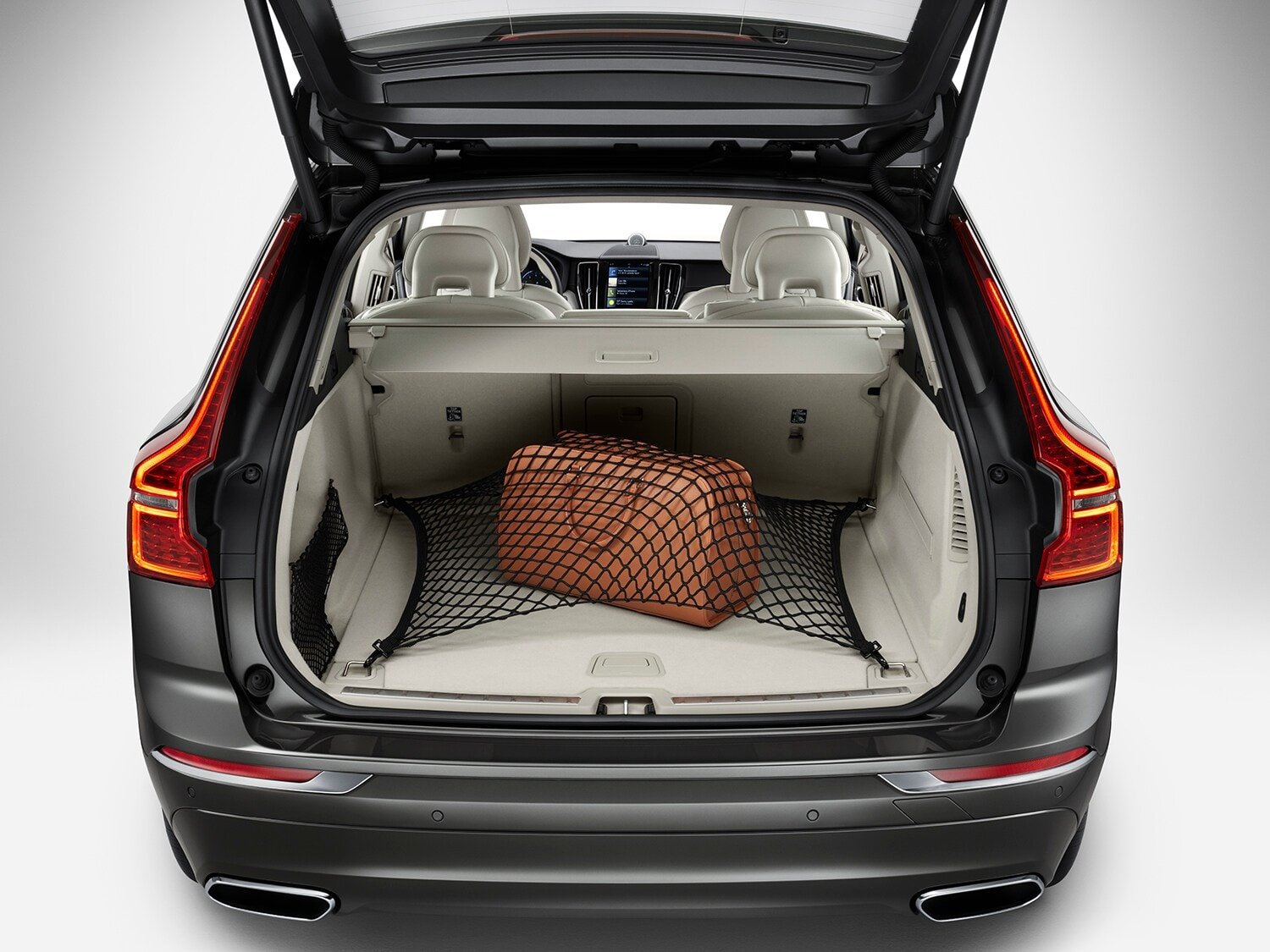 Compartiment à bagages de la Volvo XC60