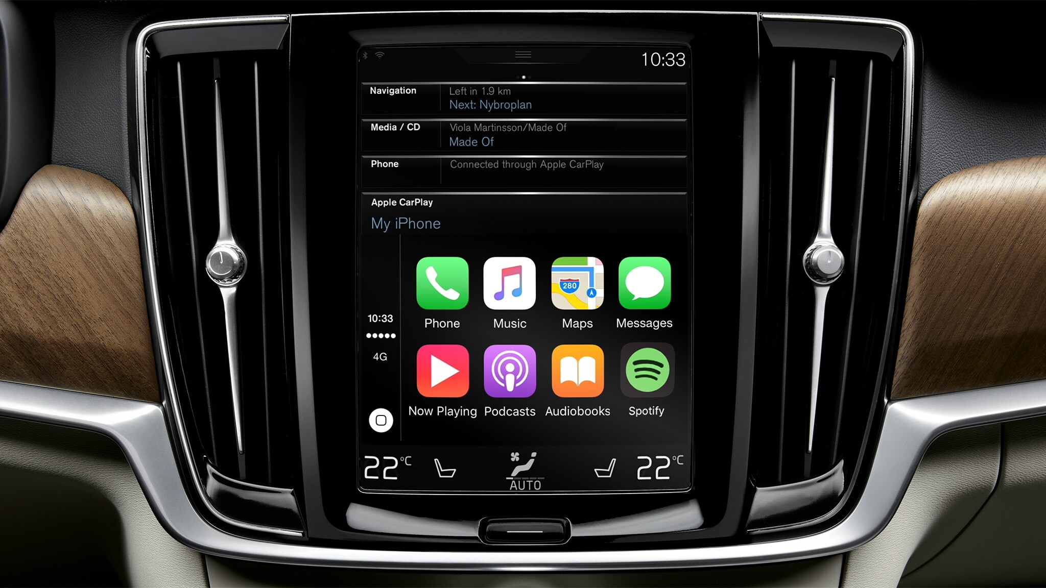 Apple Carplay Volvo