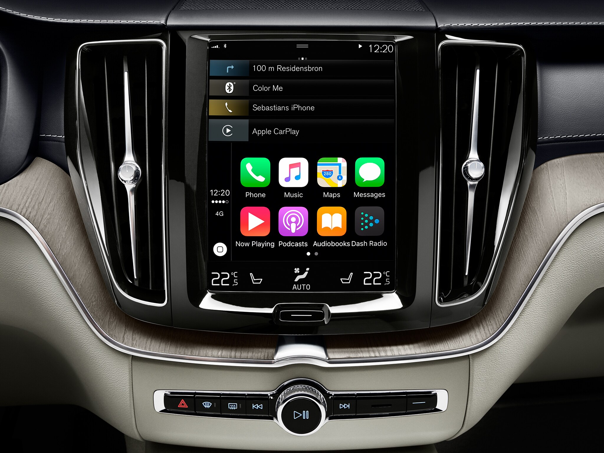 Apple CarPlay SUV Volvo XC60