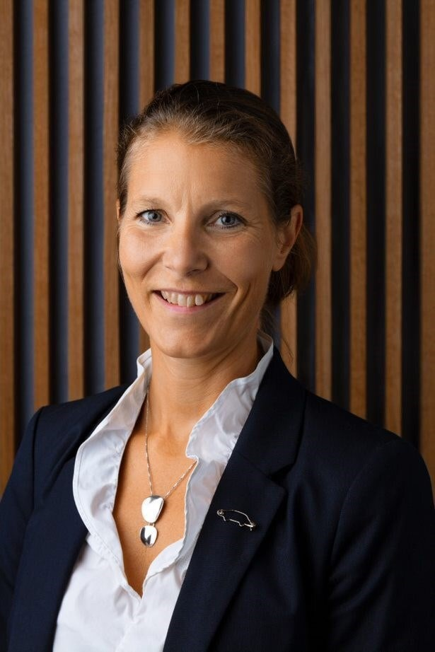 Malin Ekholm head of the Volvo Cars_ Safety Centre