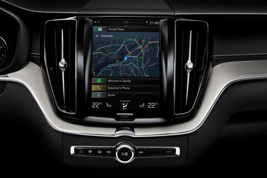 Volvo with Google Android