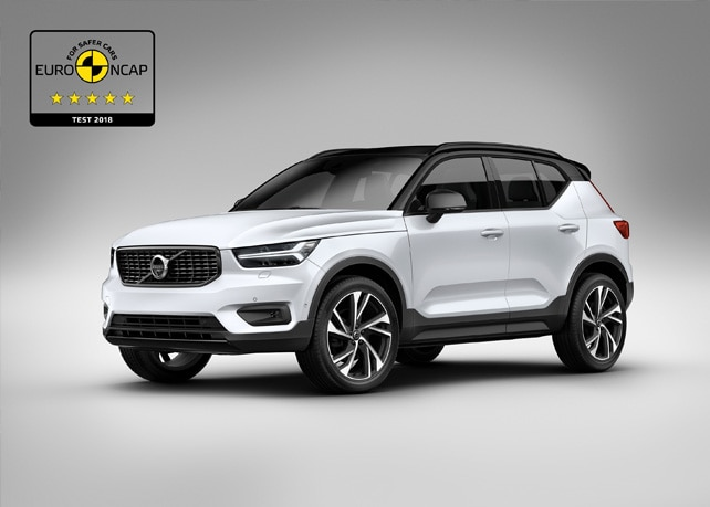 Volvo XC40 five star rating EuroNCAP
