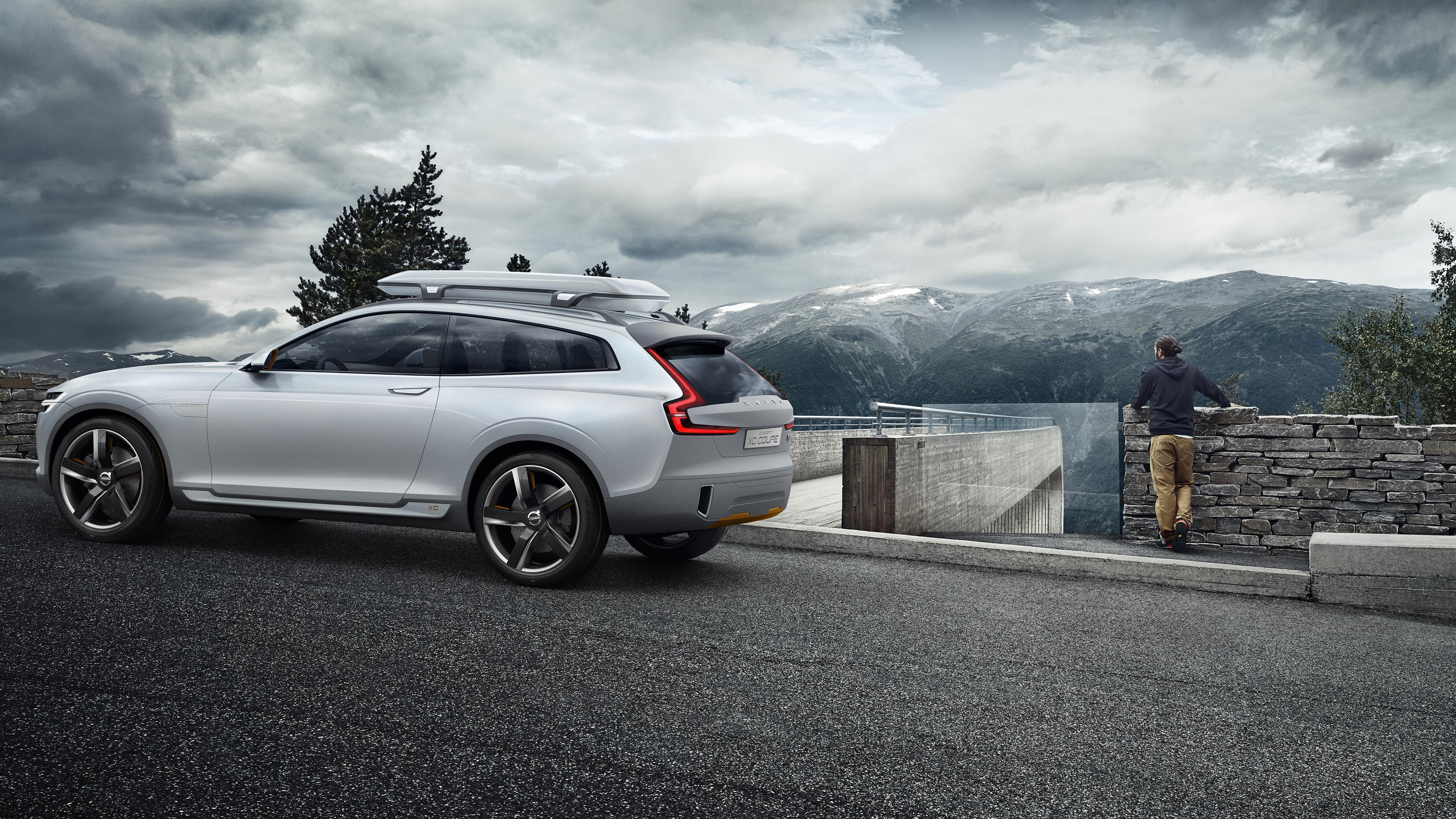 Volvo XC Coupe On the Road