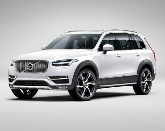 Volvo XC90 Rugged Luxury עם מדרגות צד