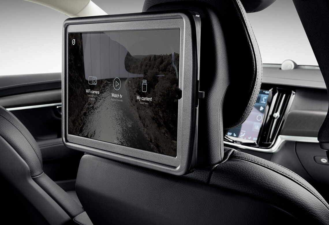 In-car media accessories from Volvo Cars