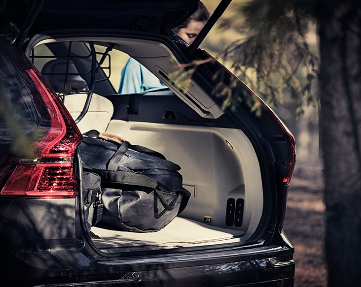 Volvo Cars' reversible luggage mat