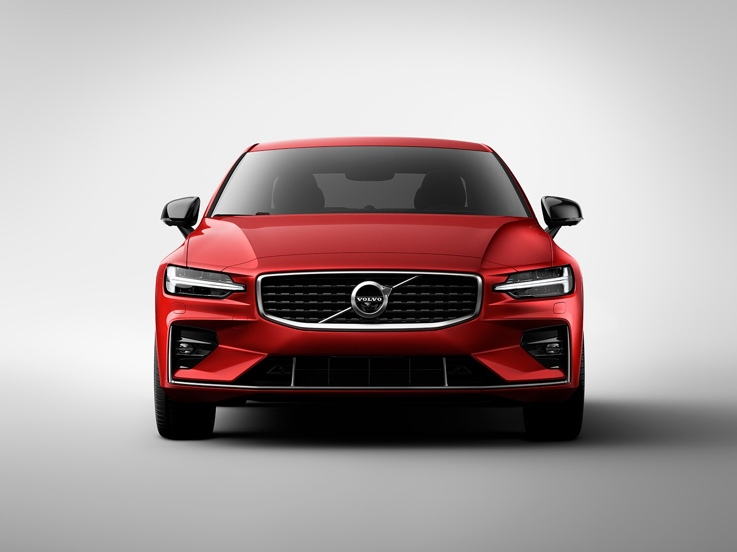 Studio image of the Volvo S60