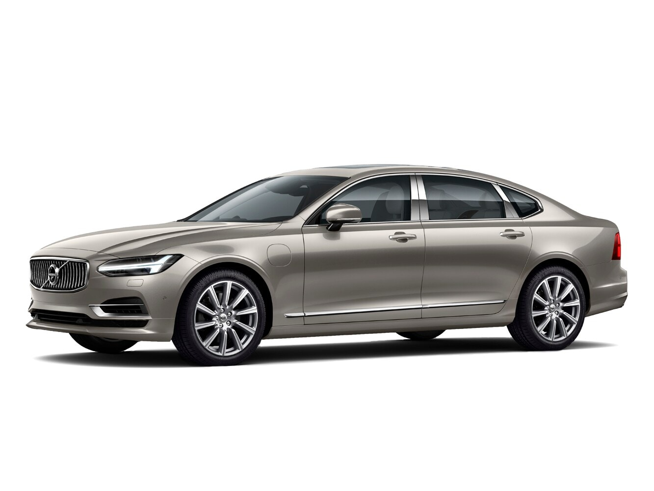 The Volvo S90 Excellence trim