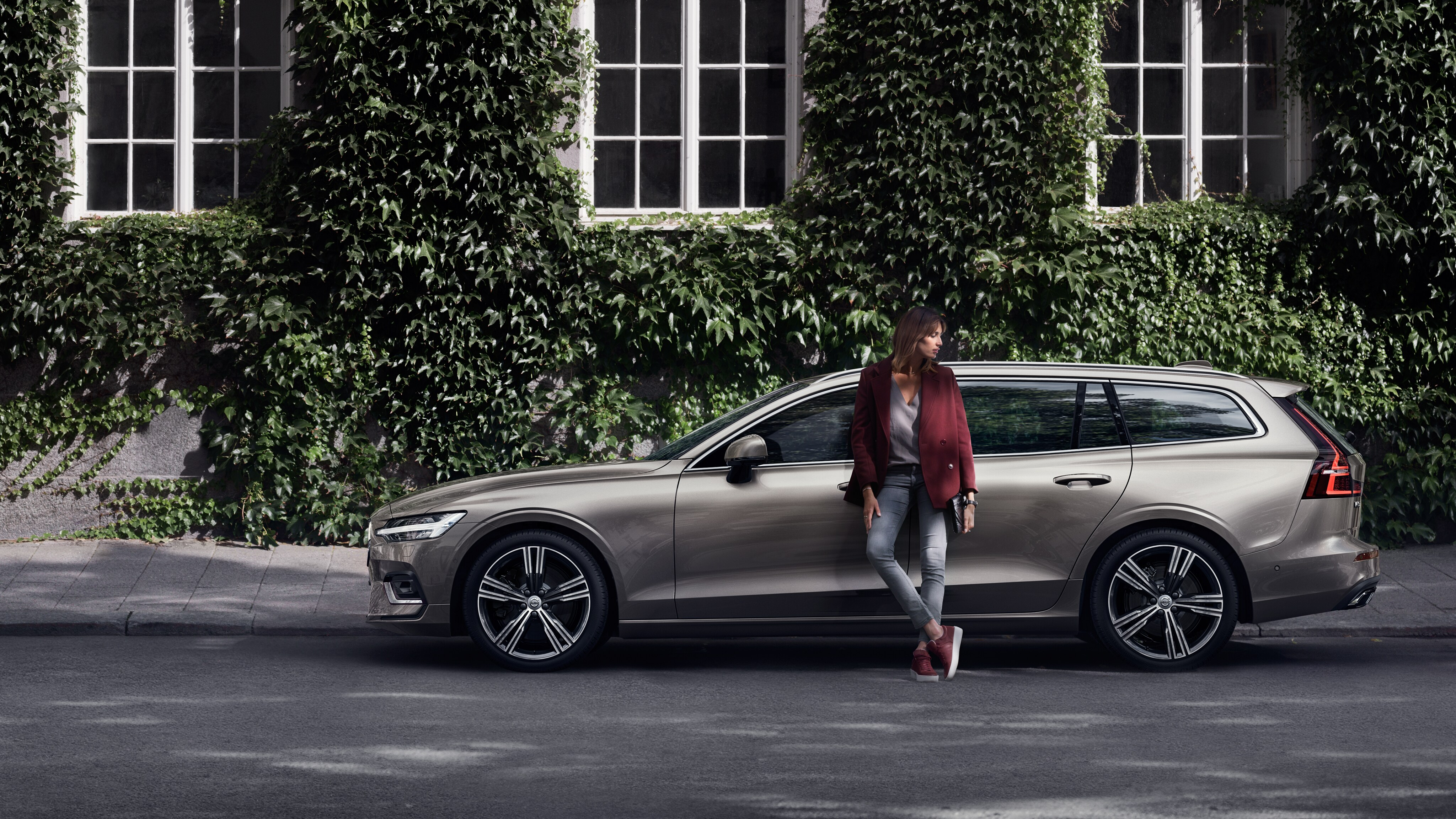 The new Volvo V60 estate