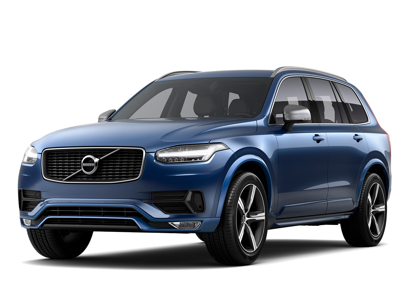 The Volvo XC90 R-Design trim
