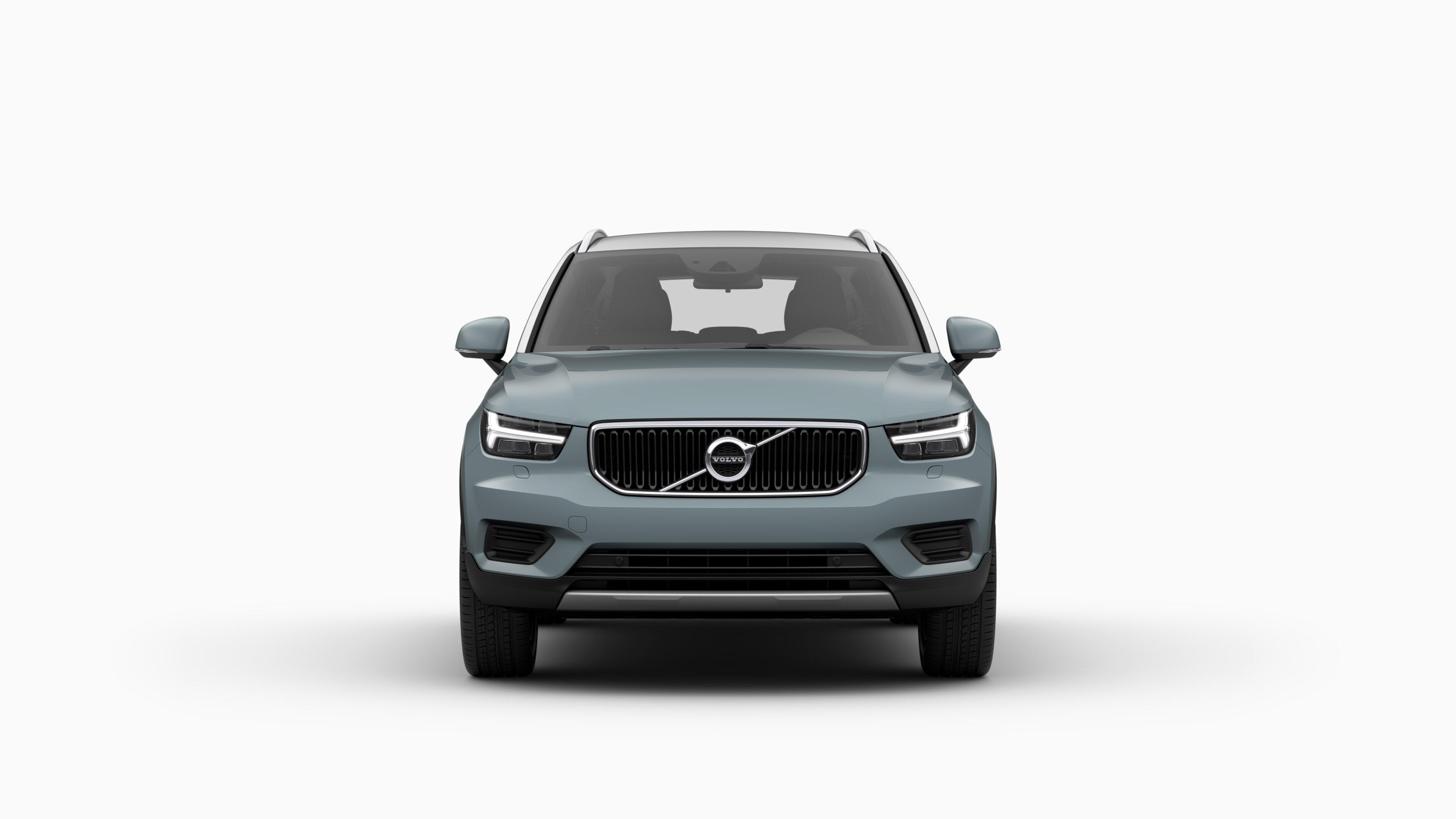 Front view of Volvo XC40