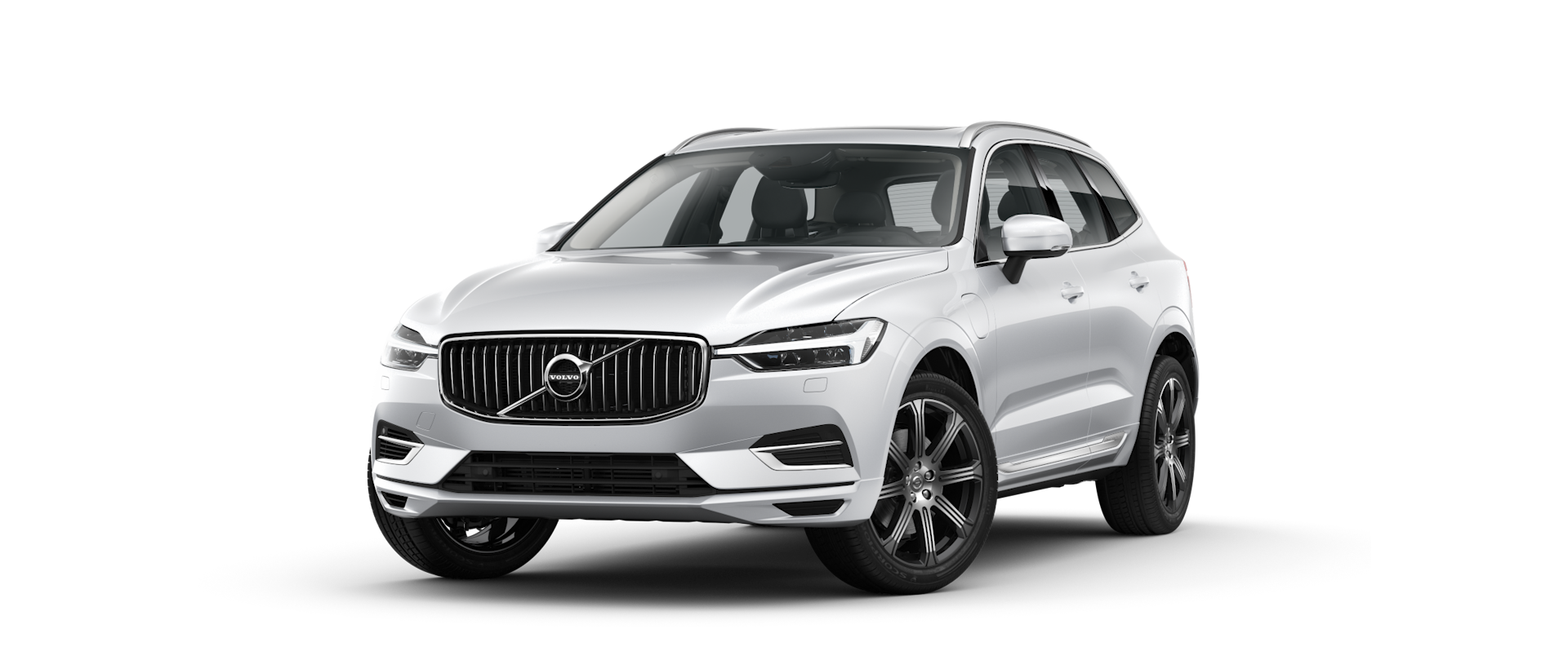front side view of XC60 mild hybrid