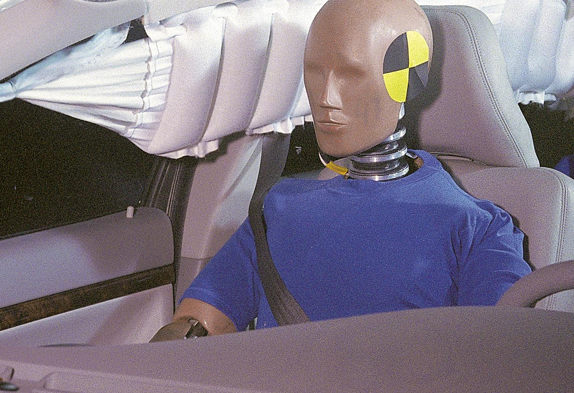 Volvo inflatable curtain 1998