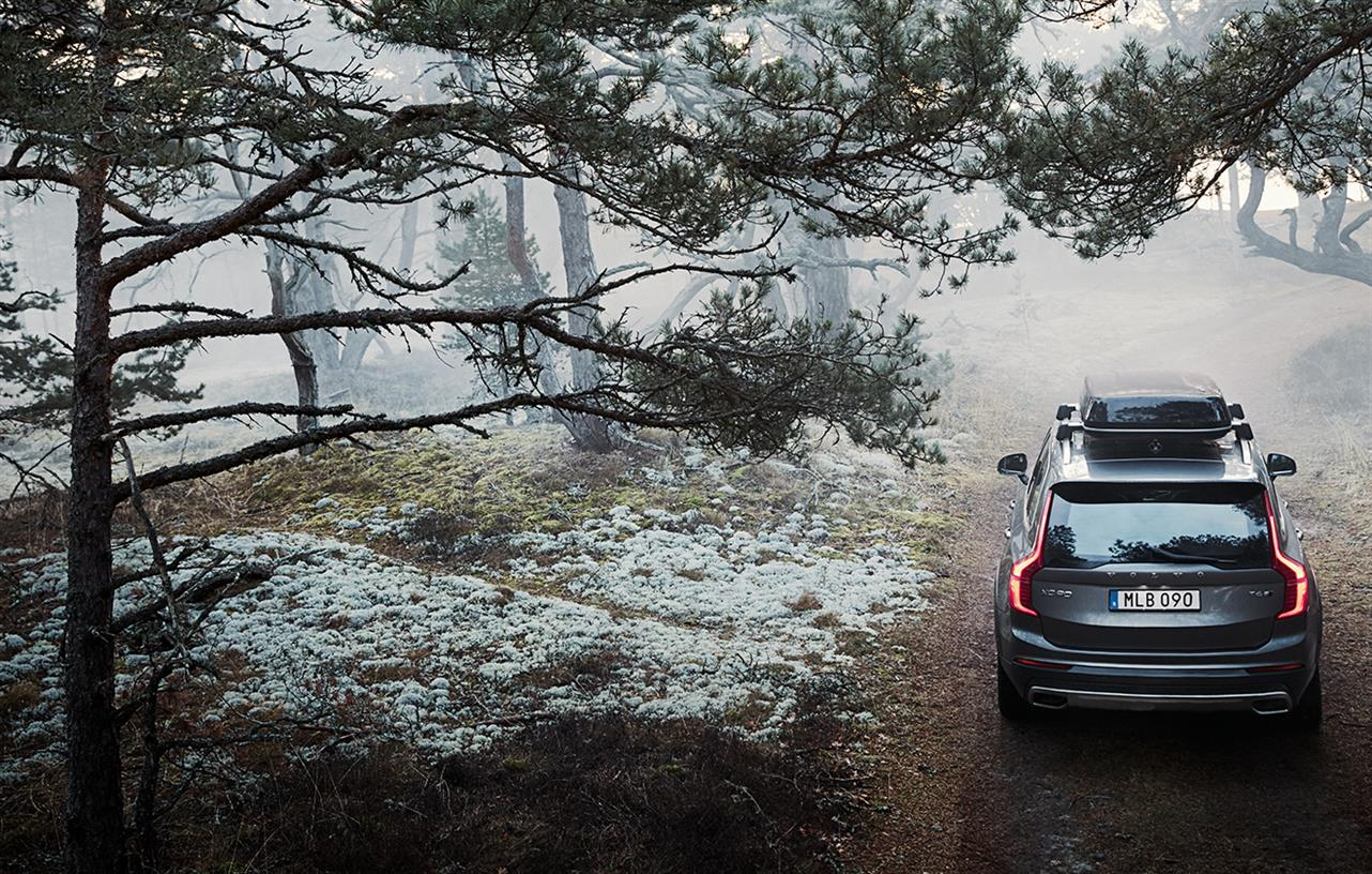 Pack and load accessories from Volvo Cars