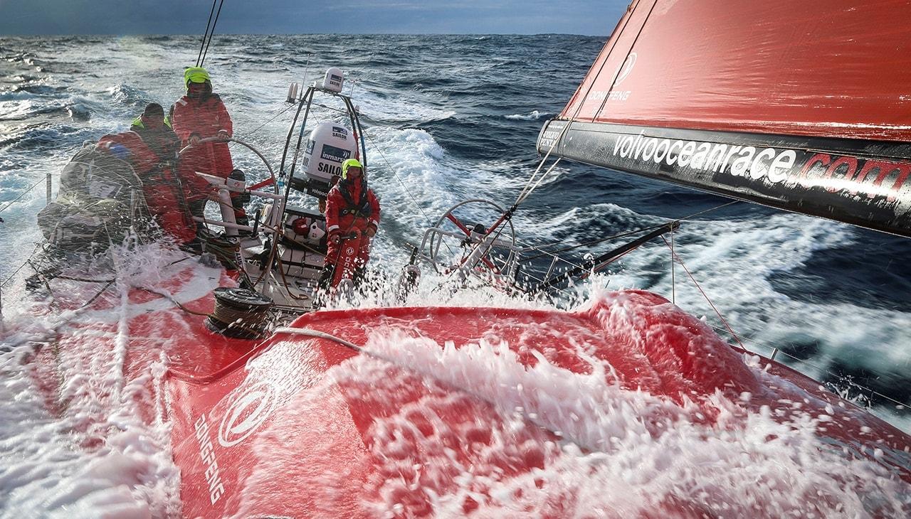 регата volvo ocean race видео