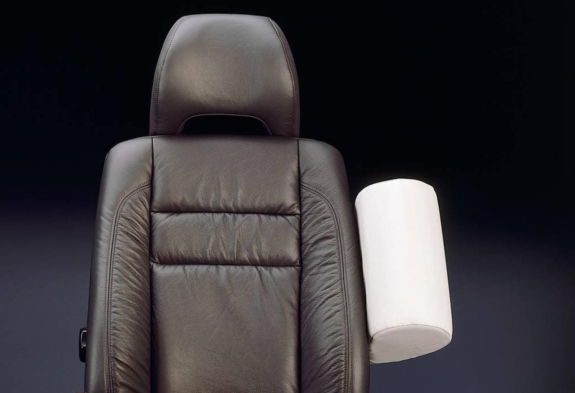 Volvo side impact protection seat