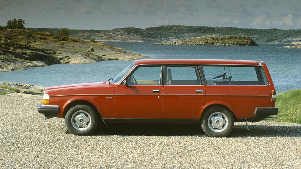 Old volvo wagon