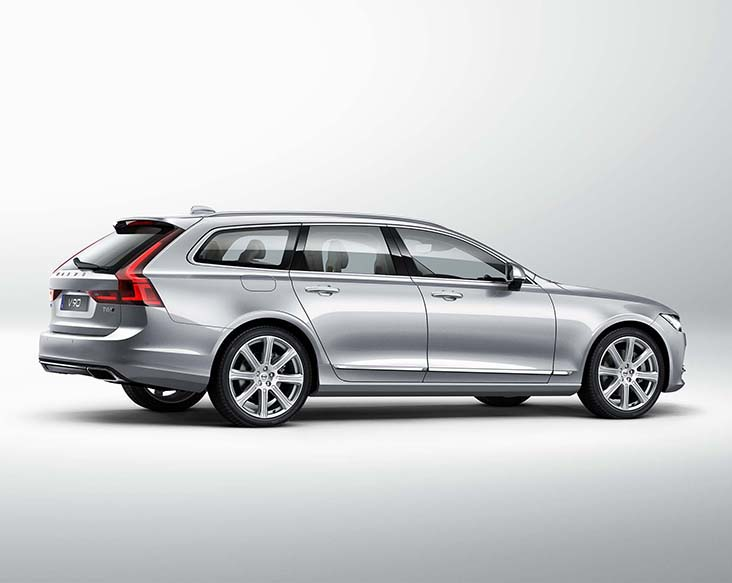volvo v90 exterior right side rear view