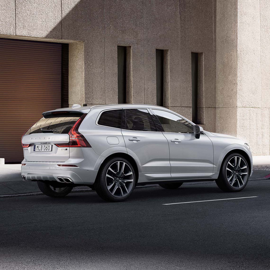 Volvo Xc60 Rdesign Exterior Right Side Rear View